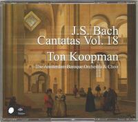 Complete Bach Cantatas Vol. 18-The Amsterdam Baroque Orchestra, Ton Koopman-CD