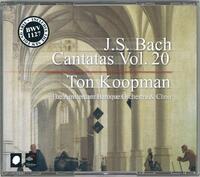 Complete Bach Cantatas Vol. 20-The Amsterdam Baroque Orchestra, Ton Koopman-CD