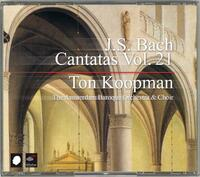 Complete Bach Cantatas Vol. 21-The Amsterdam Baroque Orchestra, Ton Koopman-CD