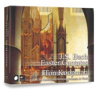 Easter Cantatas-The Amsterdam Baroque Orchestra, Ton Koopman-CD