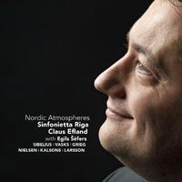 Nordic Atmospheres-Claus Efland, Egil Sefers, Sinfonietta Riga-CD