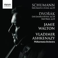 Cello Cto Op.129 / Cello Cto Op.104, Silent Woods-Jamie Waton, Philharmonia Orchestra-CD