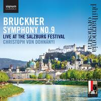 Symphony No. 9, Live At The Salzburg Festival-Philharmonia Orchestra-CD