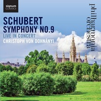 Schubert Symphony No. 9-Philharmonia Orchestra-CD