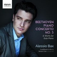 Piano Concerto No. 5-Alessio Bax-CD