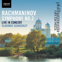 Symphony No. 2, Live In Concert-Philharmonia Orchestra-CD
