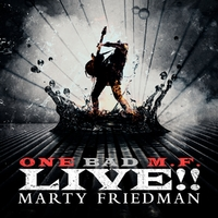 One Bad M.F... -Coloured--Marty Friedman-LP
