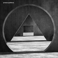 New Material (Black/Grey)-Preoccupations-LP