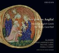 Deo Gracias Anglia! English Carols-Alamire-CD