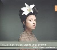 Concerti Per Violino VI 'La Boemia'-Europa Galante Fabio Biondi-CD