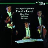 Piano Trios, Sicilienne, Berceuse-The Copenhagen Trio-CD