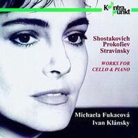Works For Cello And Piano-Michaela Fukacova & Ivan Klansky-CD