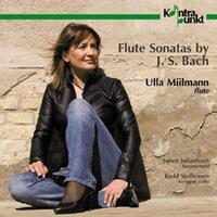 Flute Sonatas By J.S. Bach-Ulla Millmann & Kjeld Lybecker S Soren Johannsen-CD