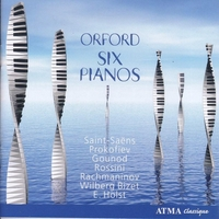 Works For Six Pianos-Godin, Murray, Orford Festival, Ouellet-CD