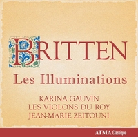 Les Illuminations, Prelude & Fugue For String Orch-Gauvin, Les Violons Du Roy-CD