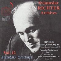 Richter Archives Vol.12-Sviatoslav Richter, Tatrai String Quartet-CD