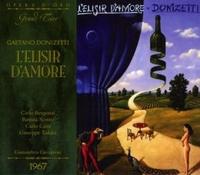 L'Eliser D'Amore (Florence, Italie 1967)-Bergonzi, Cava, Scotto, Taddei-CD
