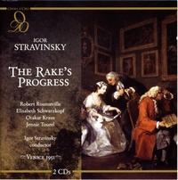 The Rake`S Progress (Venice 1951)-Kraus, Rounseville, Schwarzkopf-CD
