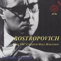 Rostropovich/Carnegie Hall 1967-Lso, Roshdestwenskij, Rostropowitsch-CD