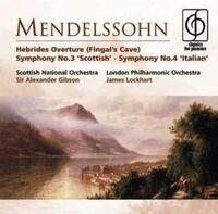Mendelssohn Symphonies Nos. 3-Scottish, Sir Alexander Gibson-CD
