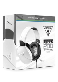 Turtle Beach Gaming Headset Wit - Earforce Recon 200 (PS4 + Xbox One + PC + Switch)-Accessoires