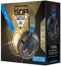 Turtle Beach Gaming Headset Zwart- Earforce Recon 50P (PS4 + Xbox One + PC + Mobile)-Accessoires