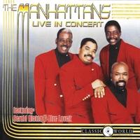 Live In Concert-Manhattans-CD