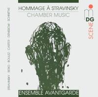 Hommage A Stravinsky: Chamber Music-Ensemble Avantgardel, Leipziger Stre-CD