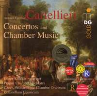 Concertos & Chamber Music-Consortium, Prague Chamber Orchestra-CD