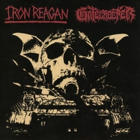 Split-Gatecreeper, Iron Reagan-CD
