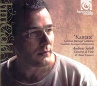 Kantate German Baroque Cantatas.-Andreas Scholl-CD