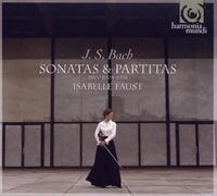 Sonatas & Partitas Vol 1-Isabelle Faust-CD