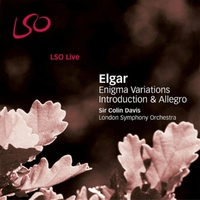 Elgar / Variations Enigma-Davis, Lso-CD