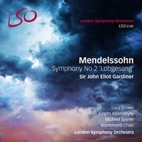 Symphony No 2 'Lobgesang'-London Symphony Orchestra & Monteve-CD
