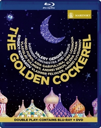 Valery Gergiev - The Golden Cockerel (Bluray + DVD)-DVD