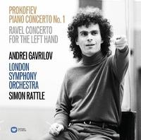 Piano Concertos-A. Gavrilov, S. Ratlle-CD