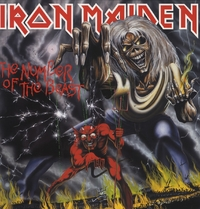 The Number Of The Beast-Iron Maiden-LP
