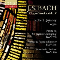 J.S. Bach Organ Works Vol. IV-Robert Quinney-CD