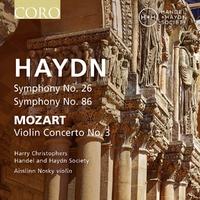 Haydn Symphonies Nos. 26 & 86-Harry Handel And Haydn Society | Christophers-CD