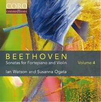 Beethoven Sonatas For Fortepiano And Violin Volume-Watson, Ian | Ogata, Susanna-CD