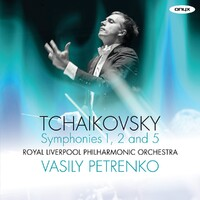 Tchaikovsky / Symphonies No.1 2 & 5-Royal Liverpool Philharmonic Orches-CD