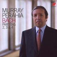 Bach: Partitas Nos. 2-4-Murray Perahia-CD
