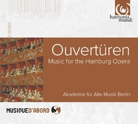 Ouverturen Fur Die Hamburger Oper-Akademie Fur Alte Musik Berlin-CD