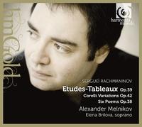 Rachmaninov / Etudes-Tableaux-Alexander Melnikov, Elena Brilova-CD