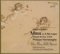 Schubertmass In A Flat Major-Herreweghe & Rias Kammerchor & Oce-CD