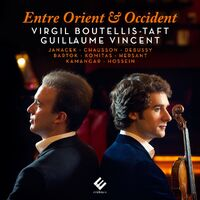 Entre Orient Et Occident-Boutellis-Taft & Vincent-CD