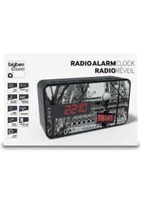 Stijlvolle Wekkerradio Met Led Display - Metro Parijs--Hardware