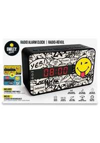 Wekkerradio Voor Kinderen Met Drie Wisselbare Frontjes - Smiley--Hardware