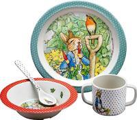 Peter Rabbit ontbijtset 4-delig-