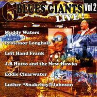 6 Blues Giants Live. Vol 2--CD